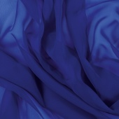 LUXURY GEORGETTE BLUEBERRY (м)