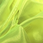 ORGANZA TROPIC LIME (м)